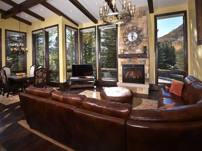 Photo for Impeccably Remodeled Platinum Rated 5 Bedroom Home – Spectacular Views of Slopes