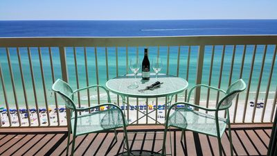 Photo for Fully Remodeled Beach Condo, Right On The White Sands, Unobstructed Ocean View