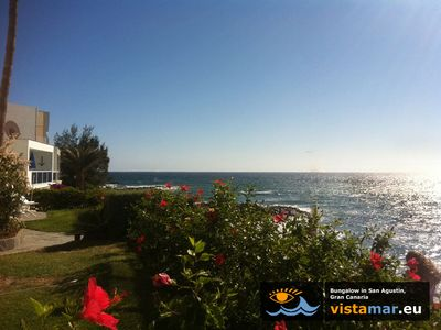 Photo for Bungalow / apartment by the sea in San Agustin, Gran Canaria