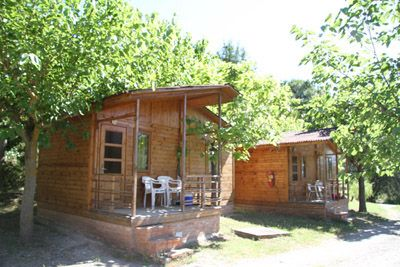 Photo for Camping Montsec - Bungalow Standard 2 - (4 Adultos)