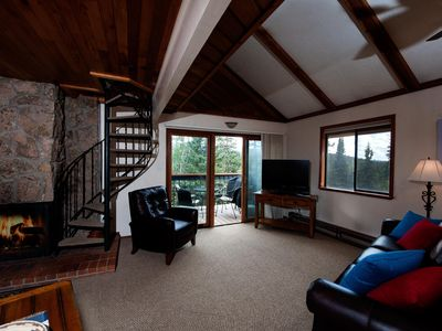 Photo for Pet Friendly - Affordable Ski in/Ski Out Condo - New Furniture - Views & Deck