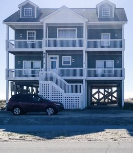 Photo for Oceanfront North Topsail Beach House with a View