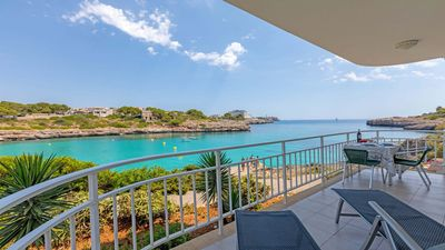 Photo for Cala Marsal - Great sea view, internet