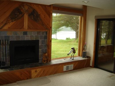 Photo for Spacious townhome on shores of quiet Tripp Lake