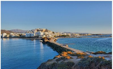 Photo for Naxos town,close to the castle .Short walk to beach and shops.