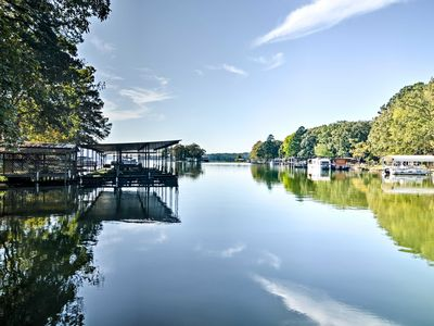 Photo for Quiet Hot Springs Home w/ Dock on Lake Hamilton!