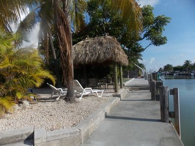 Photo for Walking distance to Cabana Club, 2 Bedroom Duplex, with 30ft dock