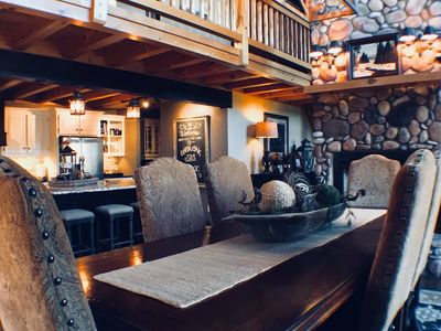 Photo for The Rustic Barr Oak Lodge Retreat is a peaceful place to relax and rejuvenate