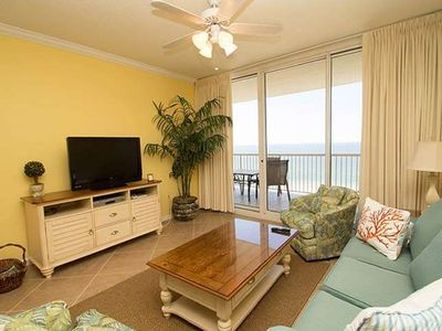 Photo for Bristol 1206 Direct Gulf  View - Right on the Beach! King/Twins/Sofa  WIFI