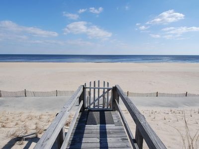Photo for FREE DAILY ACTIVITIES INCLUDED!  Ocean Front 6 bedroom, 4 bath home in Middlesex Beach
