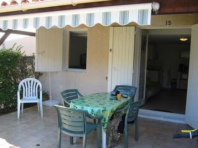 Photo for Lovely semi detached villa close to Richelieu beach Cap d'Agde