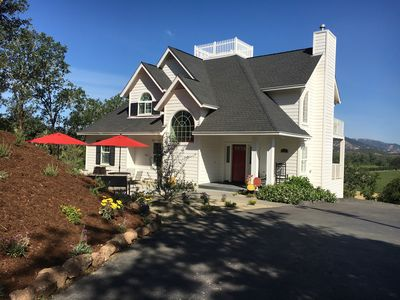 Located directly behind  Campovida Winery 1 mile from Hopland Village