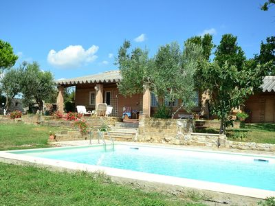 Photo for Relaxation in a pristine natural setting with open sea views