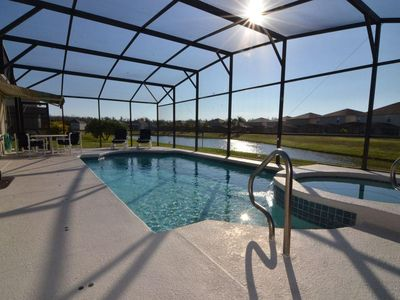 Photo for Pet Friendly 3 Bedroom/2 Bath Home,Games Room, Private Pool & Spa.
