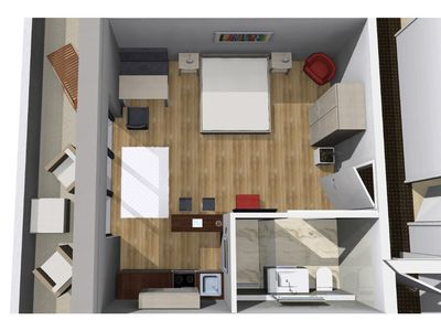 Photo for Panorama suite with kitchen and bathroom