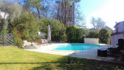 Photo for VALBONNE -VILLA PROVENCALE 3 BEDROOMS, SWIMMING POOL AND GARDEN