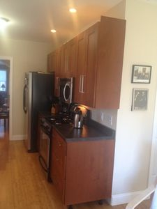 New appliances and open kitchen
