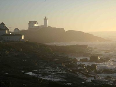 Photo for Stunning Nubble Lighthouse & Ocean Views, 3891 sq. ft. 267' of rocky coast!