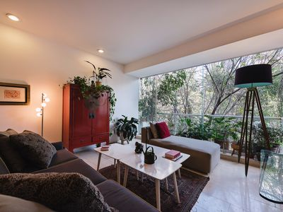Photo for Airy, greenery-filled contemporary Condesa home