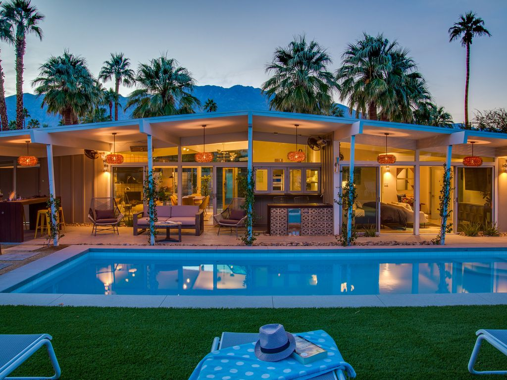 The West Elm House  3 BR  2 BA House in Palm Springs  Sleeps 6. The West Elm House  3 BR  2 BA House in Palm      HomeAway Palm