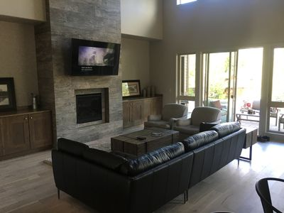 Photo for Brand New Luxury TownHome! 4 BR/3.5BA, Sleeps 8, 10 min to Town, A/C, Dog OK