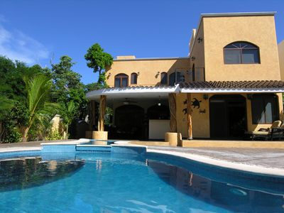 Photo for Secluded Luxury 5 Bedroom Villa with Private Pool Close to Beach and Town