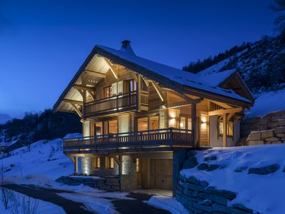 Photo for Chalet Belvedere - Luxury Chalet Serre Chevalier