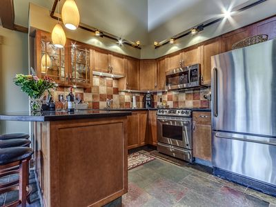 Photo for Beautiful Ski-in Ski-out Two Bedroom and Loft - Air Conditioning - Whistler