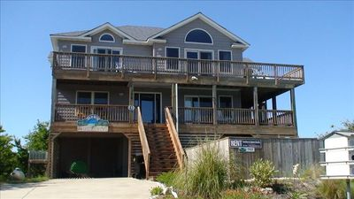 Photo for Beautiful Oceanview  in Duck – Private Pool and Hot Tub Included!