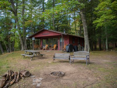 Photo for Relaxing Little Manistee River Cabin