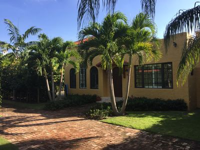 Meticulously restored and expanded this Spanish Mission style home sleeps 10.