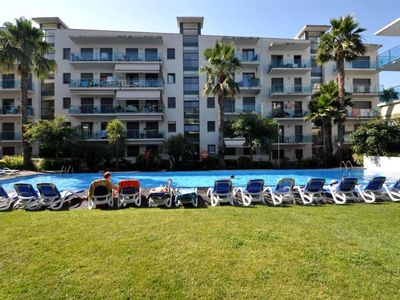 Photo for Apartment Tetiana, terrace, parking, garden, swimming pool,