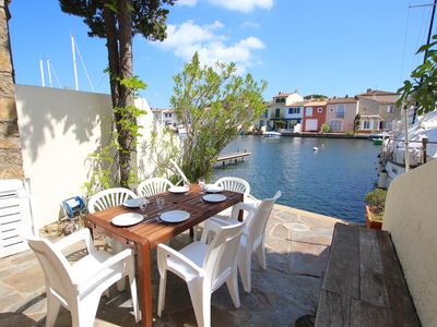 Photo for Fisherman house close to the beach with a 15m mooring