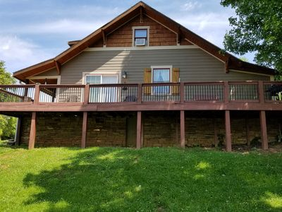 Photo for Summer House Across From French Broad River With 6 Free Tubes For Guests!!