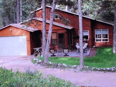 Photo for Gullys Cabin just 9 miles from Mt. Rushmore! 3 miles to Hill City!   Fire Pit!