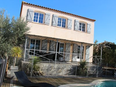 Photo for House Bastide 120m2 quiet pool, large terrace, private petanque