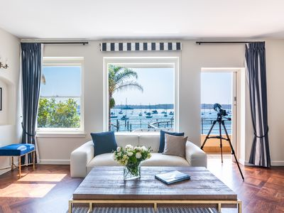 Photo for Magnificent Art Deco Waterfront apartment on the edge of Redleaf Beach