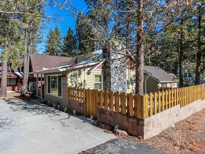 Photo for Cubby Bear Retreat 3BR Two Cabin Combo / Walk To Lake / Essentials Included
