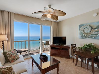 Photo for Calypso 805 East - Oceanfront Master, Beach Chairs