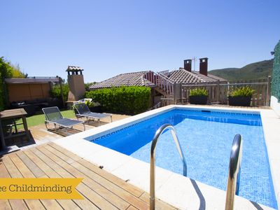 """Photo for Catalunya Casas: Villa """"El Vendrell"""" for 6-7 people, with mountain views, only 6km to the beach!"""