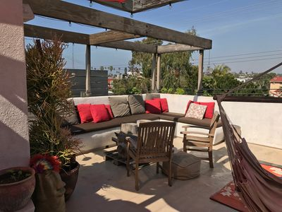 Photo for KILLER roof deck PATIO-Panoramic Views of Venice Beach, CA- 4bd/3baths.