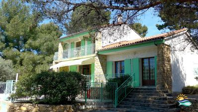 Photo for MAGIC ! A Villa With Swimming Pool, Plunging View On The Bay Of La Ciotat-France