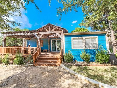 Photo for Texas Hill Country Blue Cottage with Pool Access
