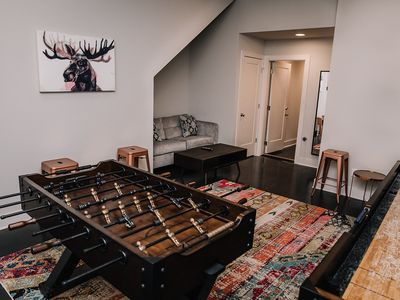 Photo for Special Pricing! Downtown Views with Game Room and Rooftop Patio