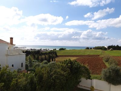Photo for Luxurious NEW Villa, near the Beach with shared pool and sea view, 6-8 p