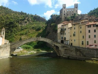 Photo for Palazzo Doria. Lovely apartment in the center of old town Dolceacqua