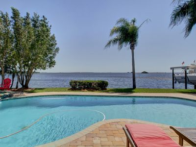 Photo for A Boater's Paradise - Single-family Waterfront Home With Deep Water Dock