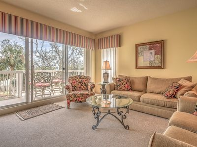 Photo for Oceanfront 1BR/1.5BA in Palmetto Dunes with FREE Activities!