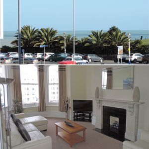 Photo for Sea View Apartment next to Theatres, Tennis & Conference Centre