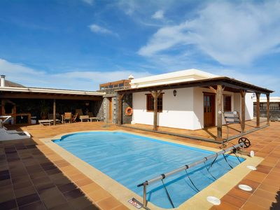Photo for Villa Reguera  with private pool with 3 bedrooms
